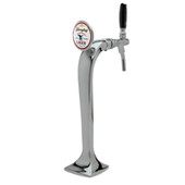 Illuminated Cobra - 1 Faucet - Polished Chrome - Glycol Cooled