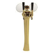 Illuminated Sexy - 2 Faucet - Gold Finish - Air Cooled