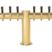 "Metropolis ""T"" - 6 Faucets - PVD Brass - Glycol Cooled"