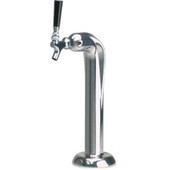 Viper - 1 Faucet - Polished Stainless Steel - Glycol Cooled