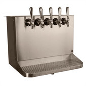 Under Bar Dispensing Cabinet - Glycol Cooled - 5 Faucets
