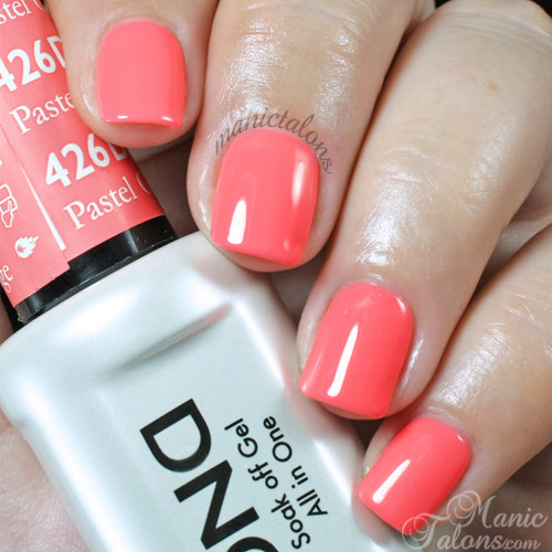 Daisy Gel Polish Pastel Orange 1426