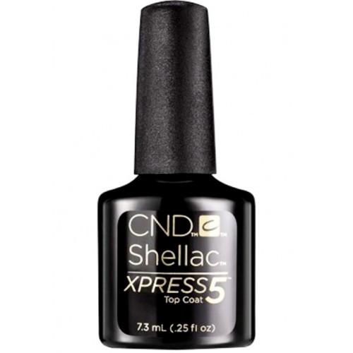 CND Shellac Xpress5 Top Coat 0.25oz