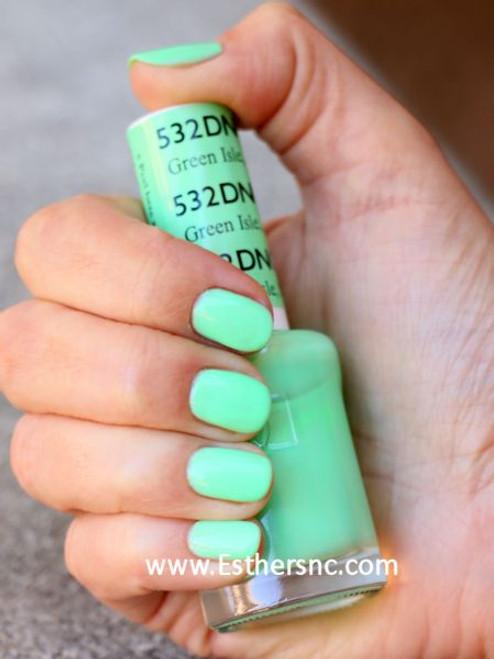 Daisy Gel Polish Green Isle MN 532