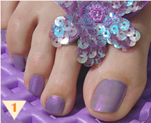 Summer Nail Art Design - Flip Flop Designs
