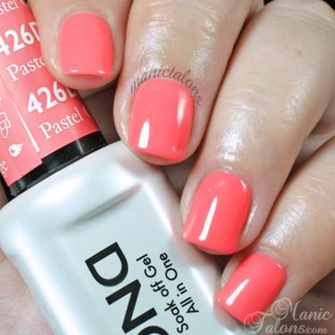 Daisy Gel Polish Pastel Orange 1426