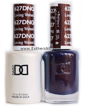 Daisy Gel Polish Loving Walnut 627