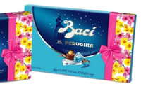 Perugina Baci Milk Chocolate 12pc Spring Sleeve Box 6.03 oz (Case of 10)