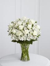 Roses and Alstro Vase