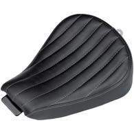 BILTWELL SPORTY-8 SEAT - BLACK VERTICAL TUCK 2010-2016 Sportster