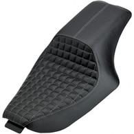 BILTWELL SPEEDWAY SEAT - BLACK CHECKERBOARD