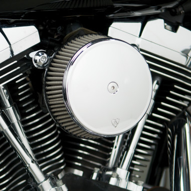Ness Big Sucker TwinCam Chrome Dyna Softail Stainless Filter