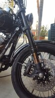 Corsair Dyna Inverted Front End by Gigacycle Garage for 06-17 Dyna Models