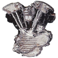 HD Knucklehead Motor / Engine Patch
