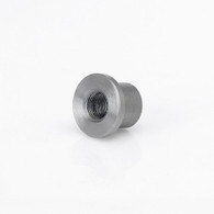 "1/8"" NPT Tophat Threaded Steel Bung 4-pack"