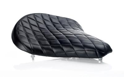 Biltwell Solo Seat Black Diamond