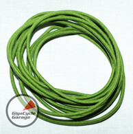 Gigacycle Garage Maxx Wire - 16 Gauge - 10 feet - Vintage Style Cloth Covering - Green