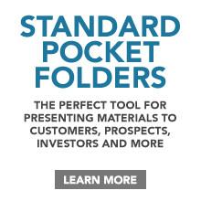 Standard Presentation/Pocket Folders