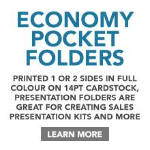 Economy Presentation/Pocket Folders