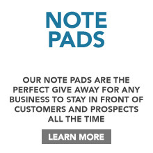 Full Colour Printed Note Pads