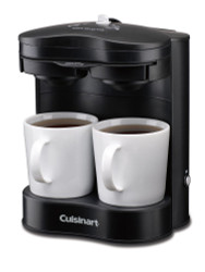 Cuisinart 2 cup coffeemaker black for Small apartment coffee maker