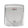 VERDEdri™ Q-972A High Speed Hand Dryer Polished Stainless Steel, Surface Mounted, ADA Compliant