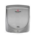 VERDEdri™ Q-973A High Speed Hand Dryer Brushed Stainless Steel, Surface Mounted, ADA Compliant