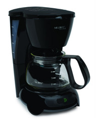 Mr coffee tf5 099 black 4 cup for Small apartment coffee maker