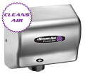 American Dryer ExtremeAir CPC9-C Cold Plasma Clean Hand Dryer, Heated, Satin Chrome