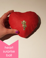 Surprise Ball Deluxe Heart