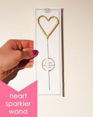 Large Heart Sparkler