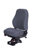 National mid back refuse truck seat in grey