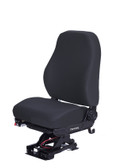 National mid back refuse seat in black