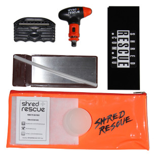 Snowboard Tuning Kit - Shred Rescue DIY Snowboard Kit