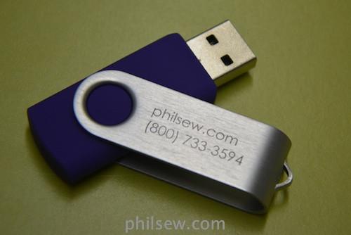 1GB Swing USB Drives