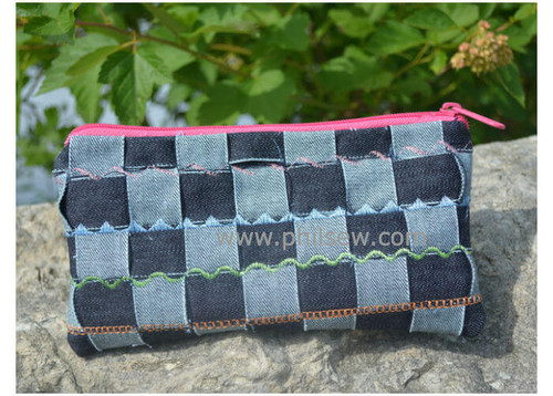Weaved Fabric Zipper Pouch Workshop-Kids