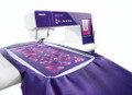 Large Embroidery Area - The PFAFF® creative™ 4.5 sewing and embroidery machine features one of the largest embroidery areas on the market - up to 360x350mm. Embroider your unique, personal creations in one hooping with one of the largest turnable hoops on market.