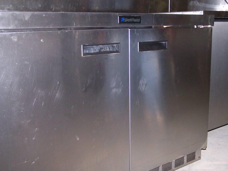 Delfield Double Door Worktop Commercial Refrigerator 2