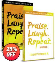 Praise. Laugh. Repeat. Combo (Book + Devotional)