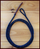 9 ft. Get Down/Foal Rope shown in Black with Blue