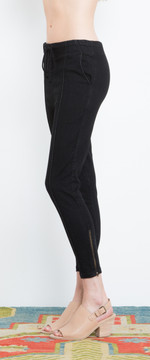 Prairie Underground - Denim Track Pant in Black $143- Show Pony Boutique