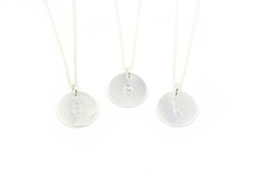Whitley Designs - Sterling Silver Initials