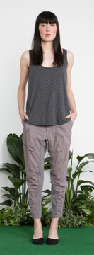 Prairie Underground - Busking Pant in Gray Ray $158 - Show Pony Boutique