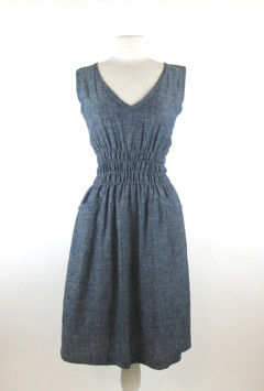 Modaspia - Fiji Dress in Indigo
