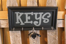 laser engraved key signs