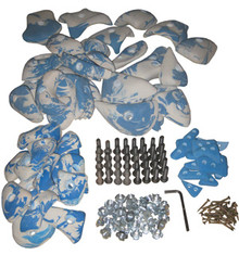 SUPER SET 60 HOLDS (with fixings)
