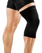 Tommie Copper Men's Recovery Compression Knee Sleeve 0304UR Black