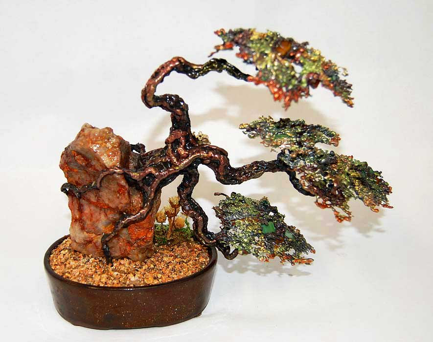 Hand Crafted Metal Bonsai Trees | Natural Beauty - Bonsai Outlet