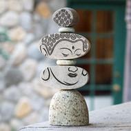 Caim Sculpture | Face of Buddha