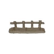 Chinese Mudman Figurine | Rustic Bridge 1 1/2 inch (F-073)